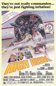 "Poster for the movie ""High Risk"""