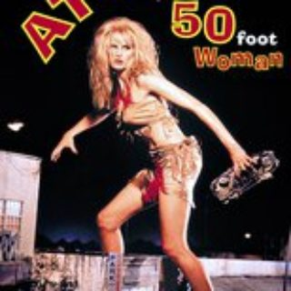 "Poster for the movie ""Attack of the 50 Ft. Woman"""