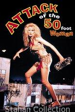 """Poster for the movie """"Attack of the 50 Ft. Woman"""""""