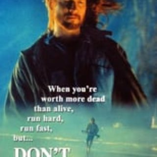 "Poster for the movie ""Don't Look Back"""
