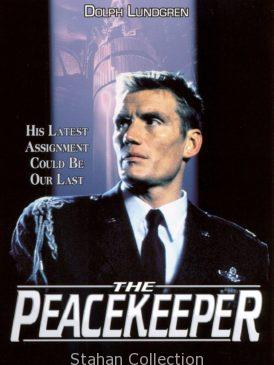 "Poster for the movie ""The Peacekeeper"""