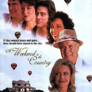 "Poster for the movie ""A Weekend in the Country"""